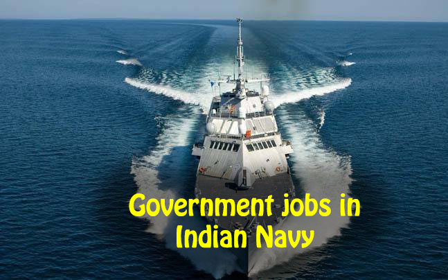 Government jobs in Indian Navy