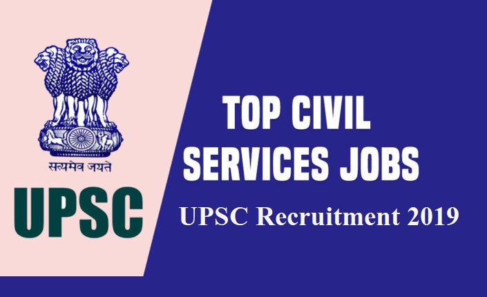 UPSC Recruitment 2019 - 358 new posts announced