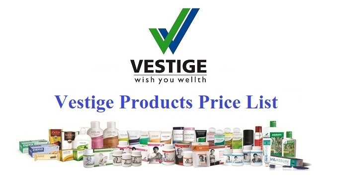 Vestige Products List 2020