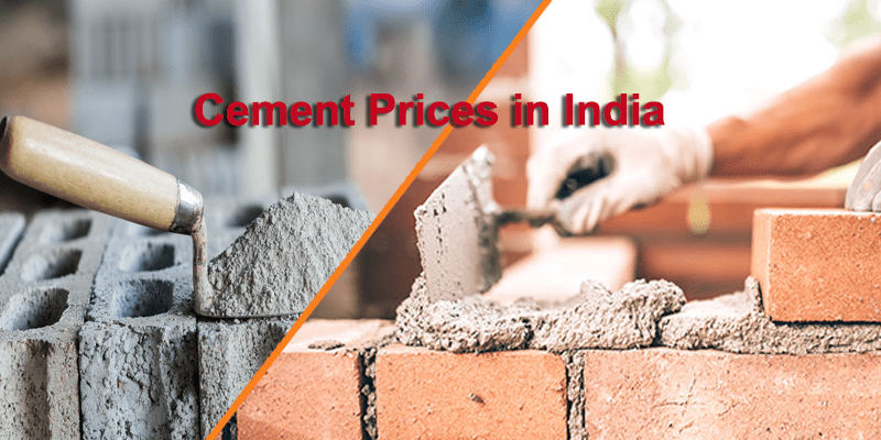 Latest Cement Prices in India