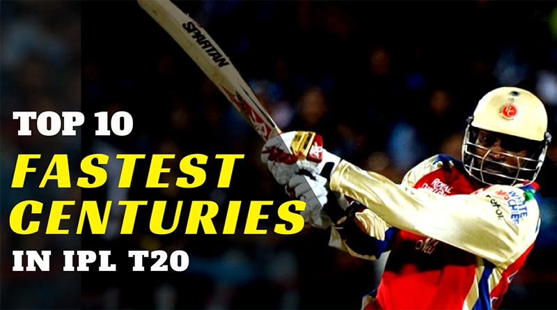 10 fastest centuries in IPL