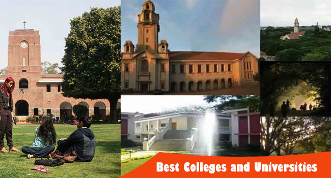 India's Best Colleges and Universities List