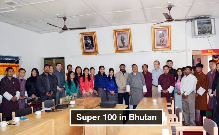 Super 100 in Bhutan by Anand Kumar