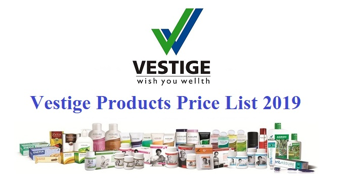Vestige Products Price List in India - 2019