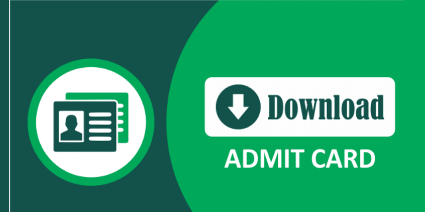 Admit card 2019 Download