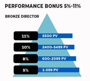 Vestige Performance Bonus