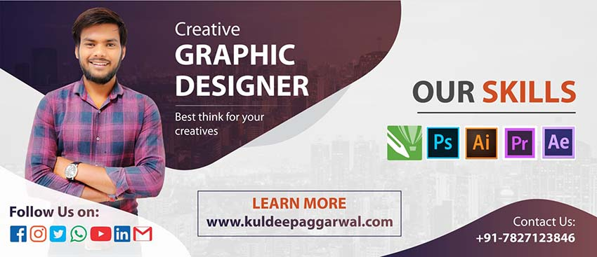 Kuldeep Aggarwal-Creative Graphic Designer