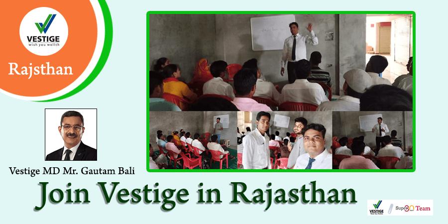 Vestige Rajasthan Team