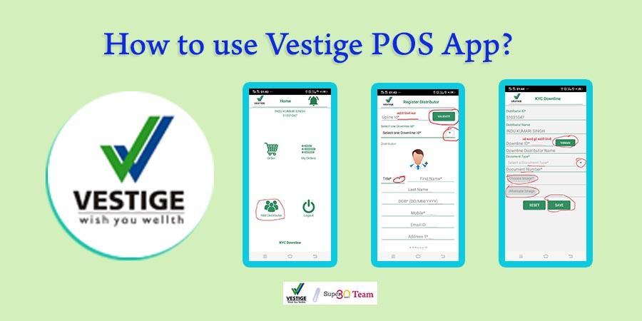 How to use Vestige POS App?