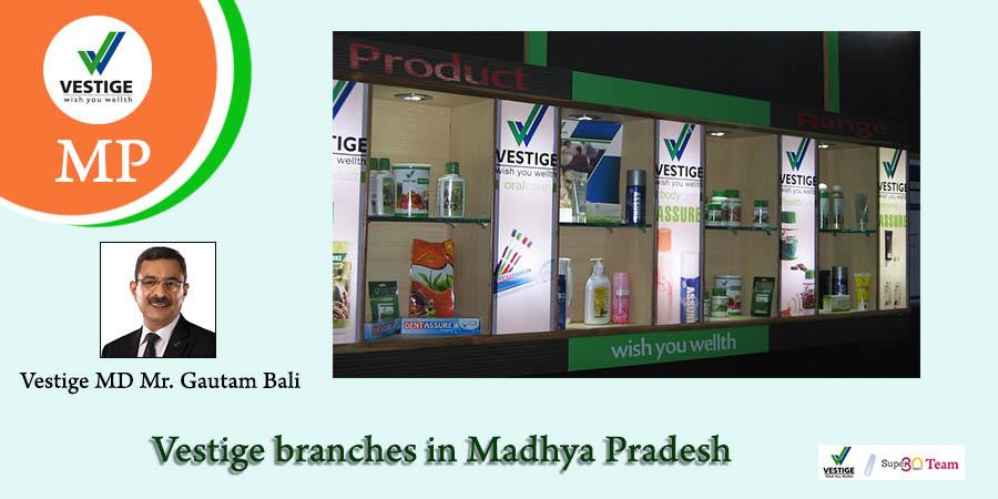Vestige Branches in Madhya Pradesh