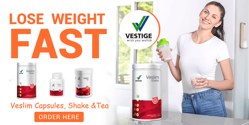 Vestige Veslim Capsules, Shake and Tea