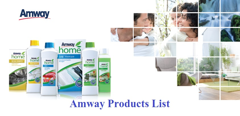 Amway All Products Price List in India 2019-20