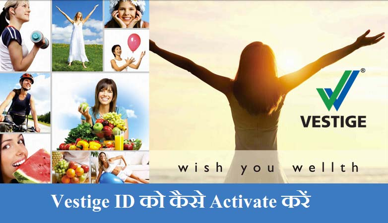 Vestige ID Activation in Hindi