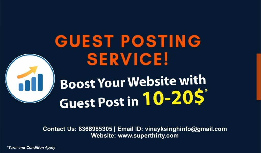 Guest Posting Service!