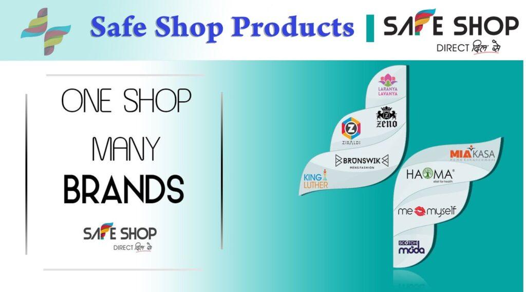 Safe Shop Products List 2020