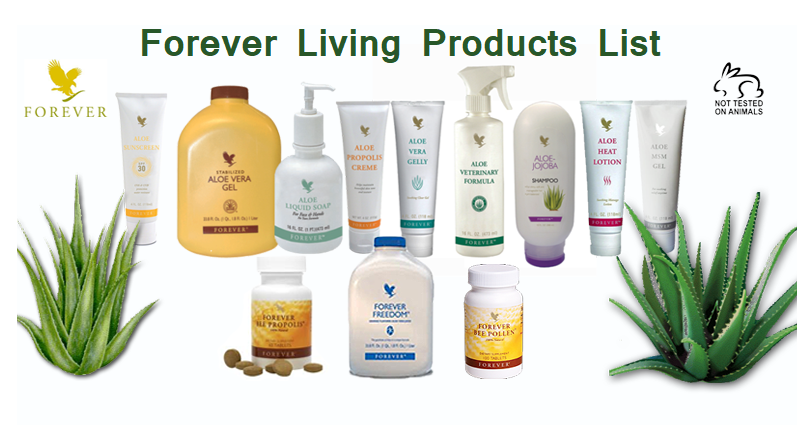 Forever Living Products List with Indian Price