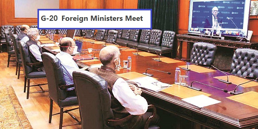 G-20 Foreign Ministers Meet