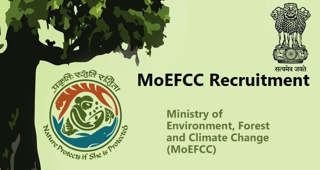 MoEFCC Recruitment 2020