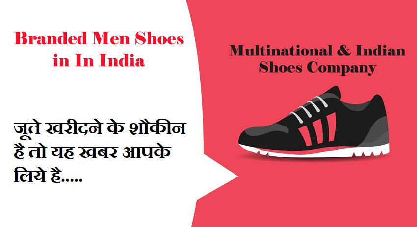 Branded Shoes for men Online
