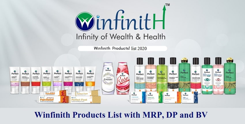 Winfinith Products List