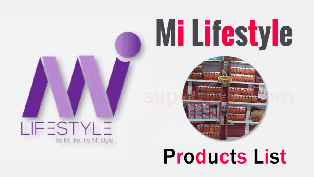 Mi Lifestyle Products list