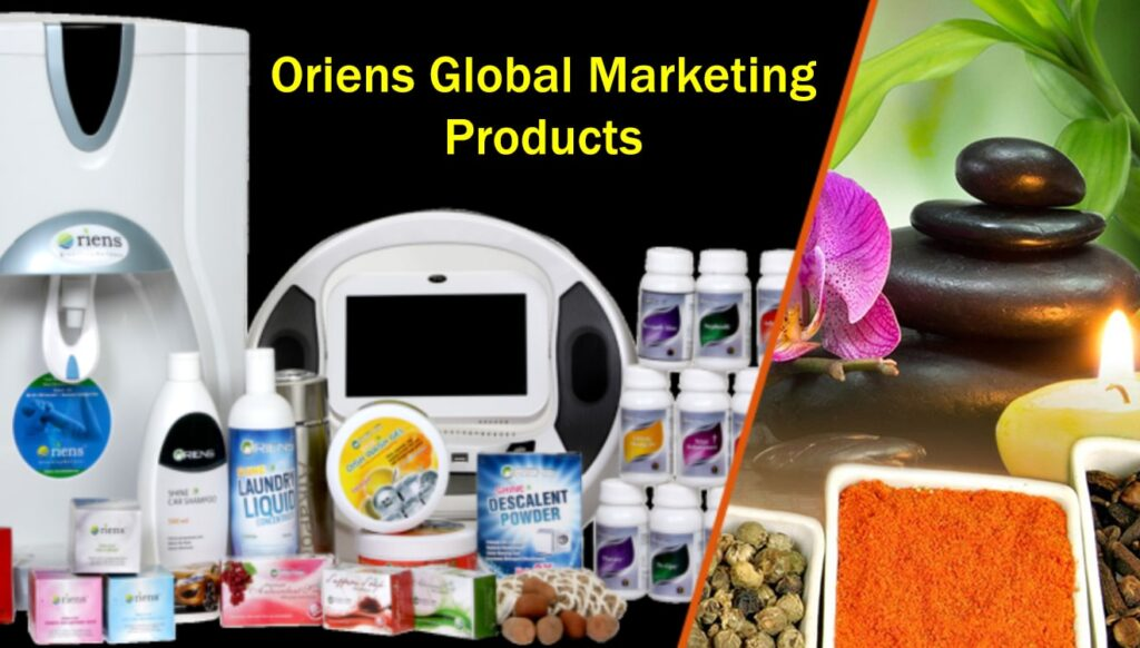 Oriens Products Price List